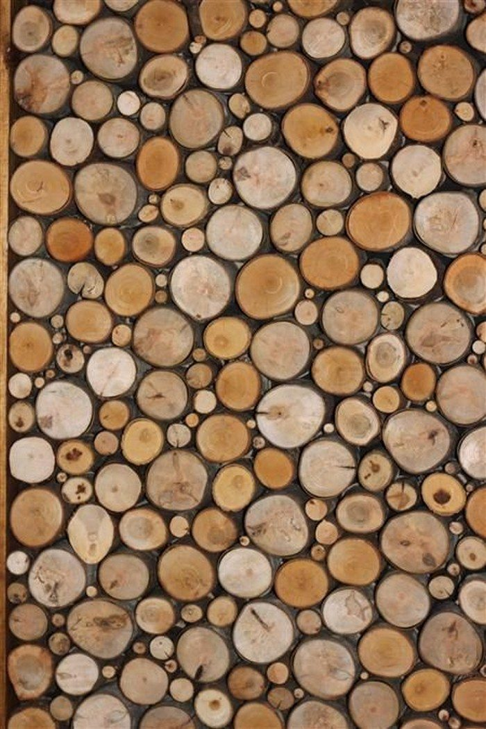 How To Make Your Own Cordwood Floor DIY Projects For