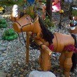 DIY Clay Pot Horse