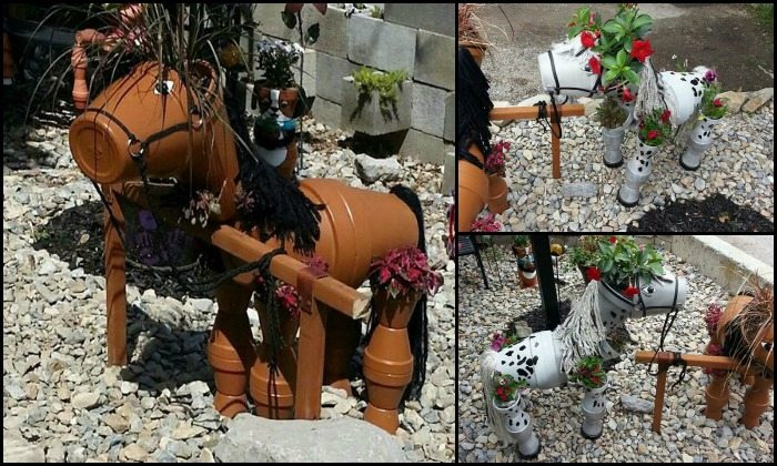 DIY Clay Pot Horse Main Image