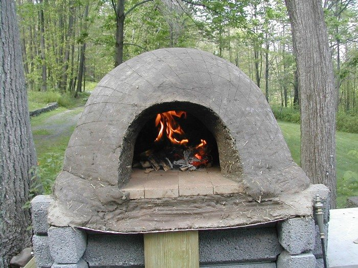 Clay Brick Stove : How to build a low cost earthen oven diy projects for
