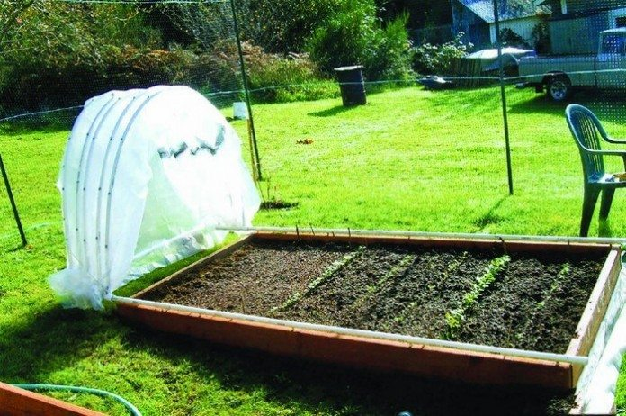 Gliding Hoop House