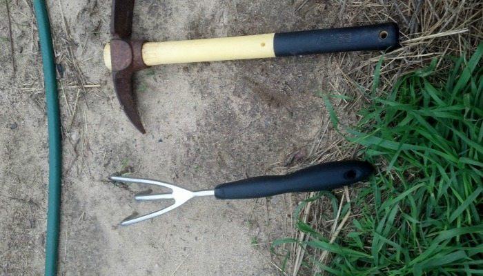 Hay Bale Gardening Tools