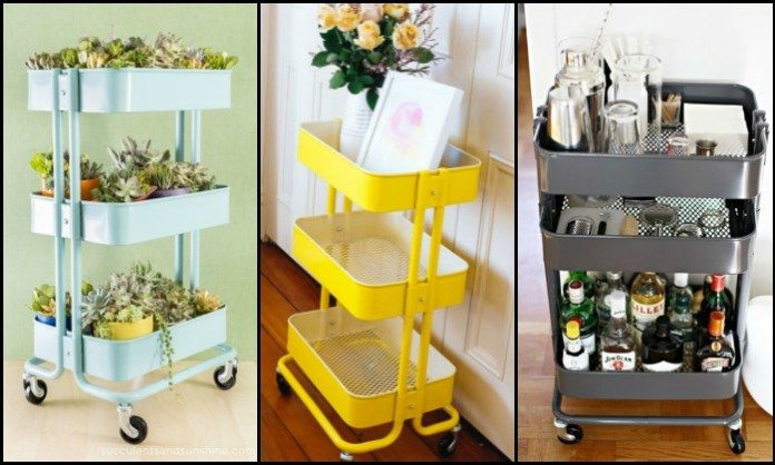 IKEA Raskog Cart Ideas