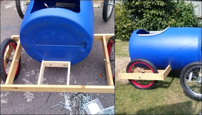 Plastic Barrel Soap Derby Box