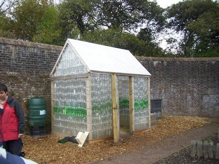 plastic bottle greenhouse instructions