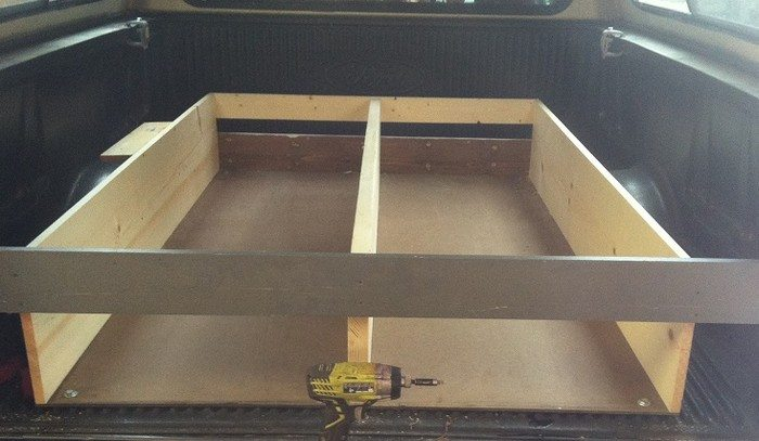 How To Install A Sliding Truck Bed Drawer System Diy