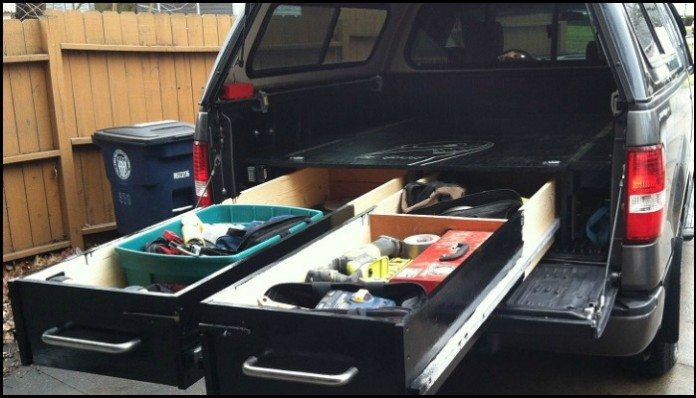 Sliding Truck Bed Drawer System Main Image