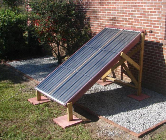 How To Build A Solar Furnace For Less Than 50 Diy
