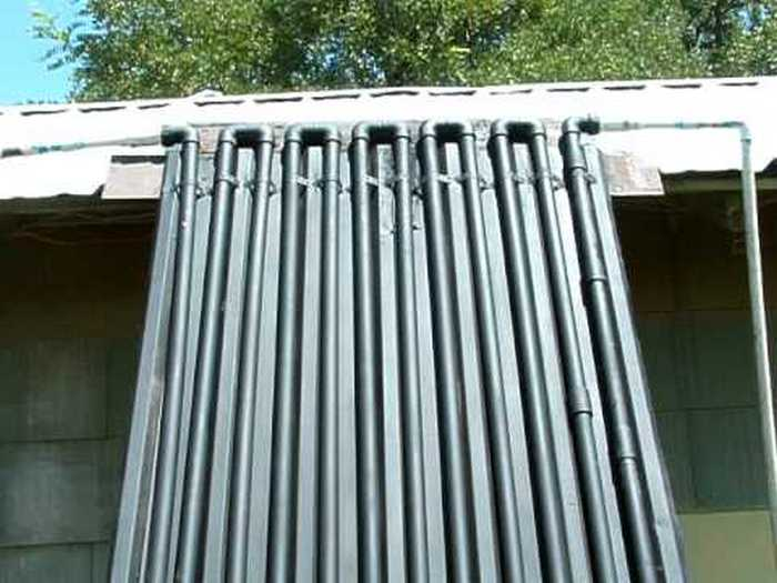 build your own solar heater facias