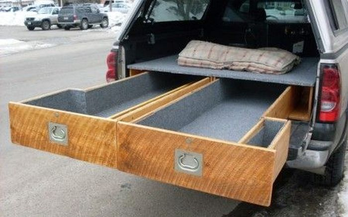 How to install a sliding truck bed drawer system diy projects for everyone - Truck bed box drawers ...