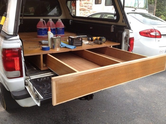 How to Install a Sliding Truck Bed Drawer System | DIY ...