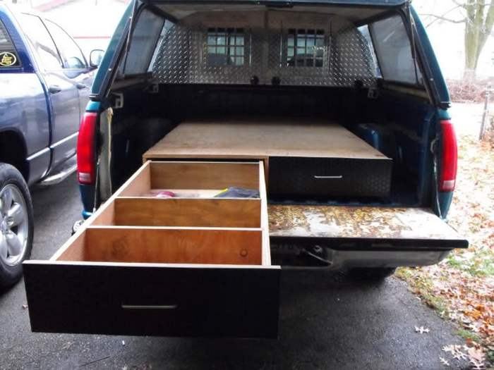 How to Install a Sliding Truck Bed Drawer System | DIY projects for ...