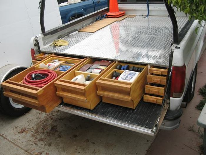 how to install a sliding truck bed drawer system | diy projects