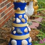 Clay Pot Bird Bath