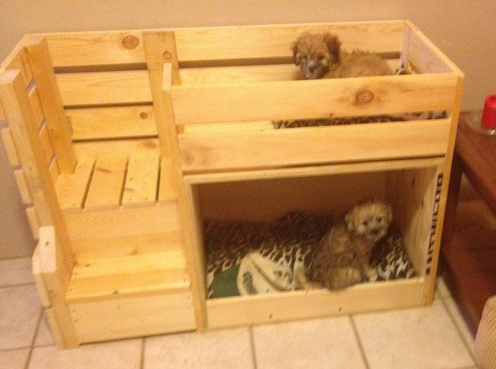 how to make a dog bunk bed 2
