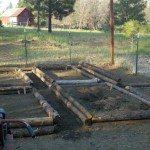 Log Raised Beds