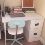 Old Filing Cabinet Desk