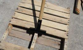 Make your own pallet breaker!