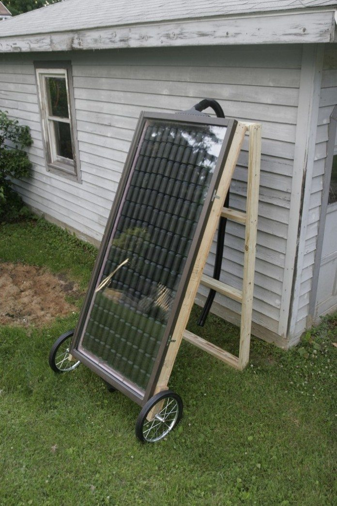 How To Build A Soda Can Solar Heater Diy Projects For