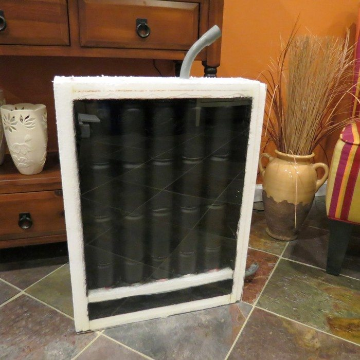 How to build a soda can solar heater diy projects for for Coke can heater