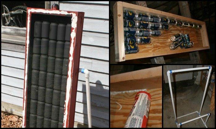 Soda Can Solar Heater Main Image