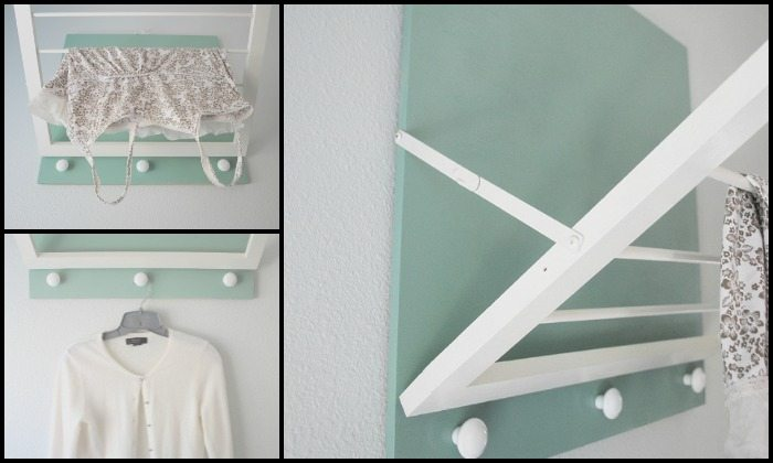 Wall Mounted Drying Rack Main Image
