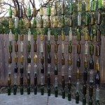 Wine Bottle Fence Ideas