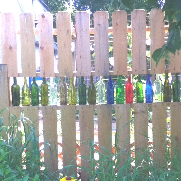 How To Build A Bottle Privacy Screen Diy Projects For