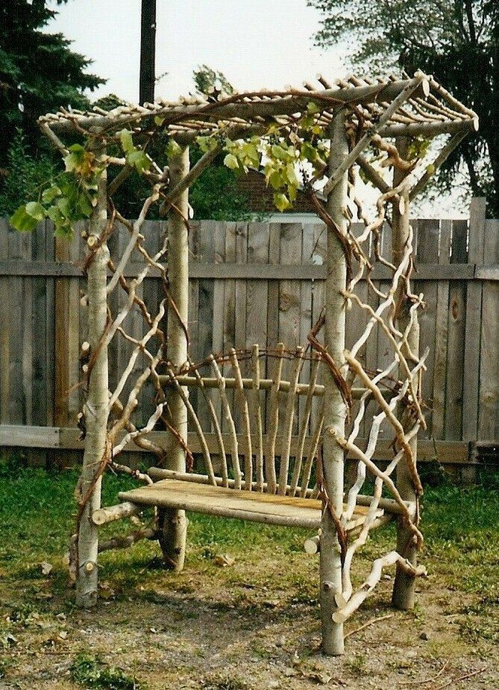 How to build an arbor bench for your garden | DIY projects for everyone!