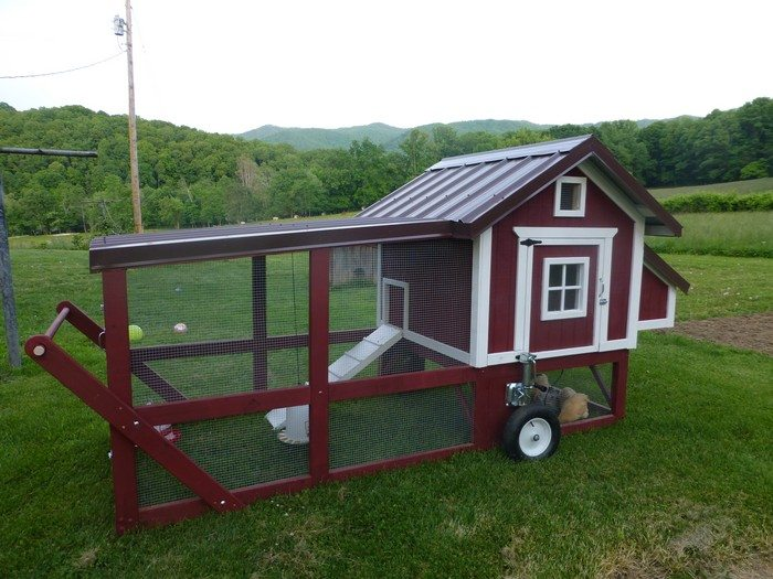 How to Build a Chicken Tractor DIY projects for everyone! - Make Kitchen Cabinet Doors