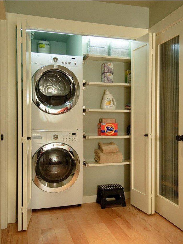 Attractive Closet Laundry Room