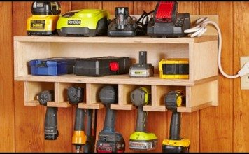 Cordless Drill Storage And Charging Station Main Image