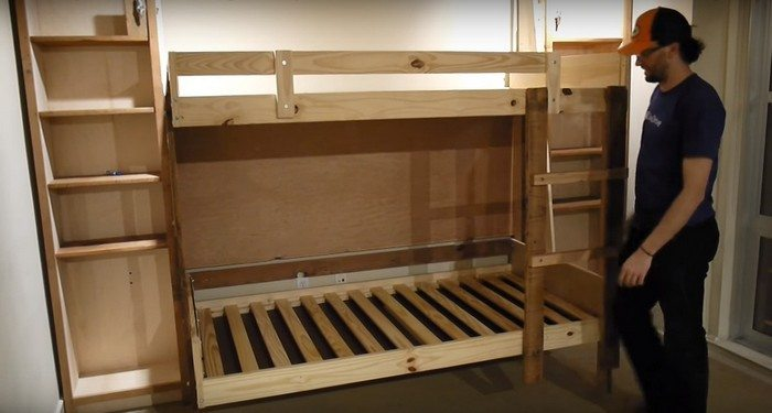 diy murphy bunk bed - Bunk Beds For Kids Plans