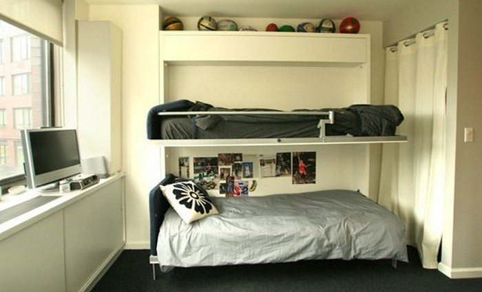 How to build a murphy bunk bed diy projects for everyone diy murphy bunk bed solutioingenieria Choice Image