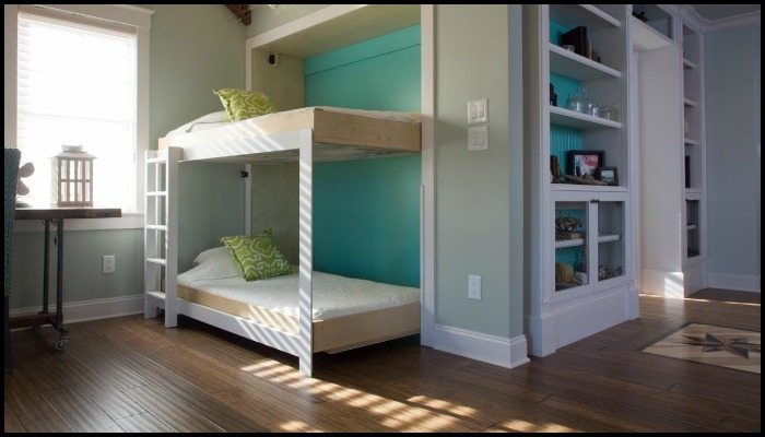 DIY Murphy Bunk Bed Main Image