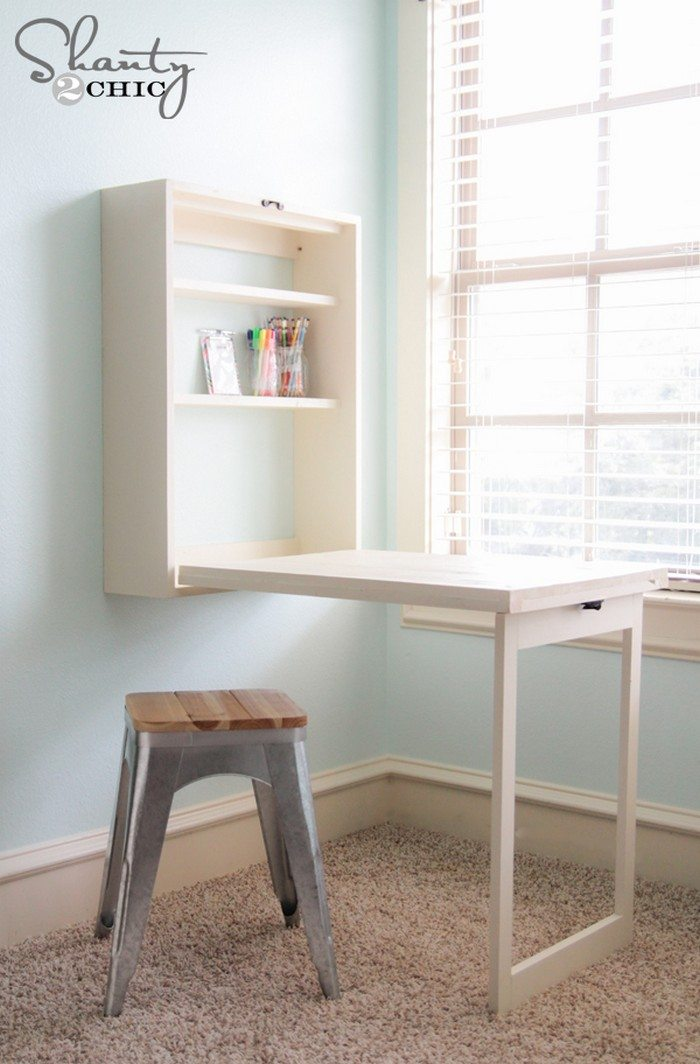 Murphy Craft Table DIY projects for everyone : DIY Murphy Craft Desk 11 from diyprojects.ideas2live4.com size 700 x 1064 jpeg 99kB