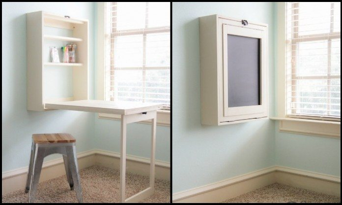 DIY Murphy Craft Table Main Image