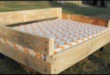 DIY Pallet Dog Bed Main Image