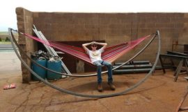 How to build a rocking hammock
