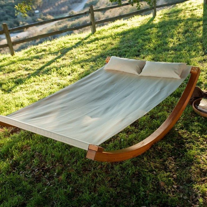 How to build a rocking hammock diy projects for everyone - How to make hammock at home ...