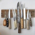 DIY Rustic Knife Rack