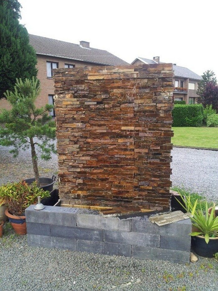 How to build a glass waterfall for your backyard | DIY ...
