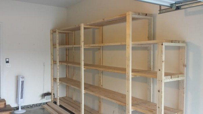 Easy garage/basement shelving | DIY projects for everyone!