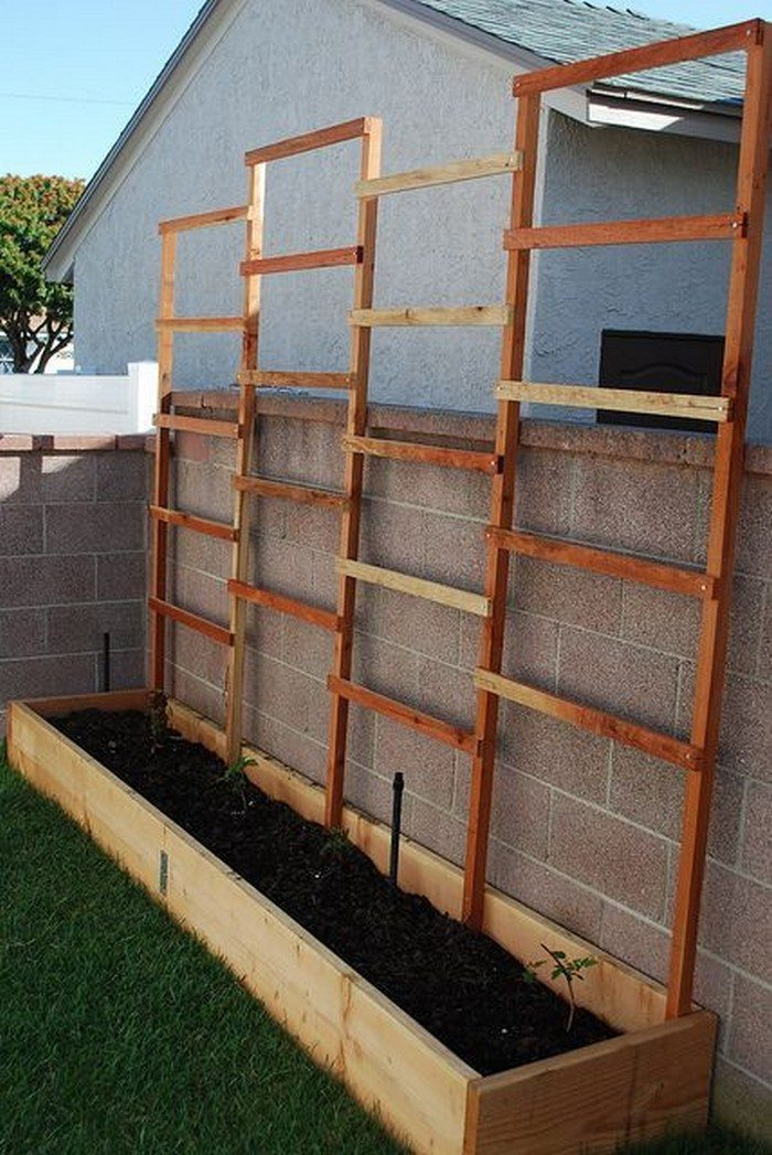 how to build a planter with privacy screen diy projects for everyone. Black Bedroom Furniture Sets. Home Design Ideas