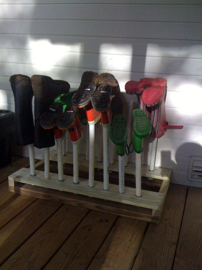How To Build A Boot Rack Diy Projects For Everyone