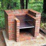 DIY Brick Barbecue