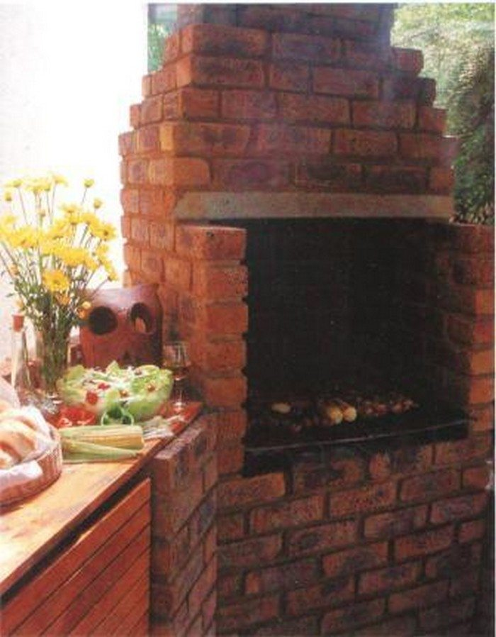 Build A Brick Barbecue For Your Backyard Diy Projects
