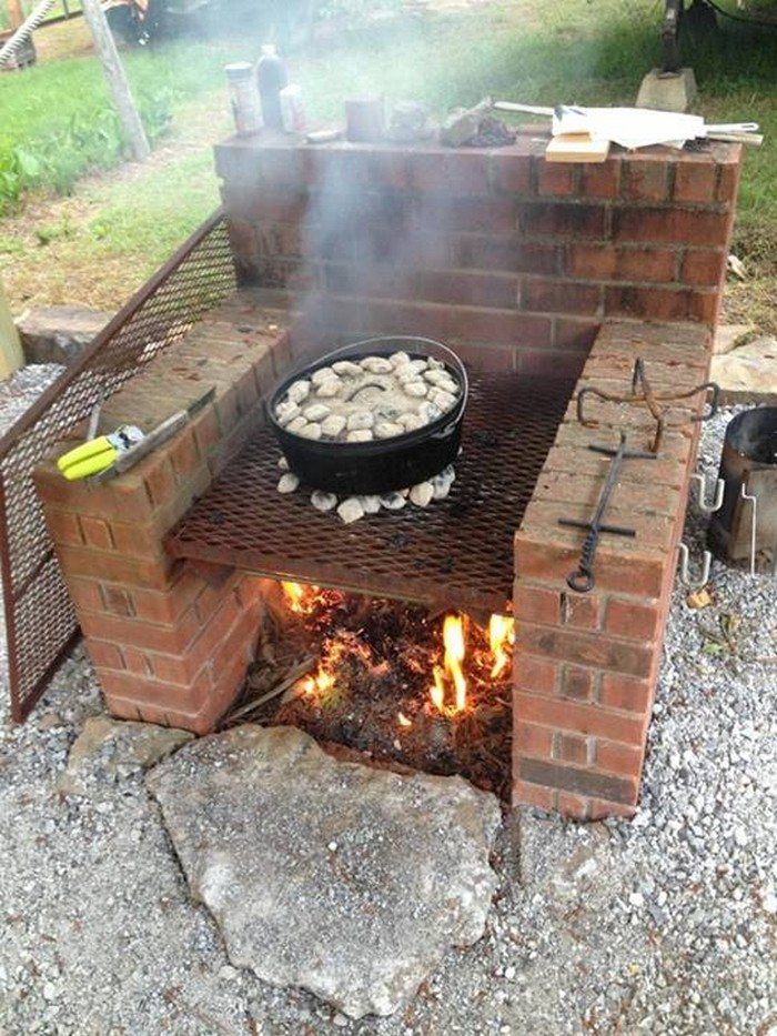 build a brick barbecue for your backyard diy projects for everyone