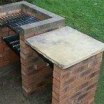 DIY Brick Barbecue