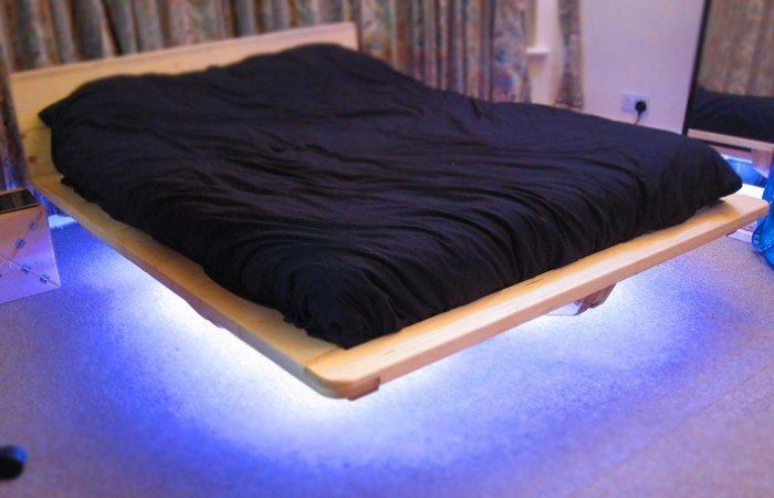 diy floating bed build your own floating bed diy projects for everyone 11845